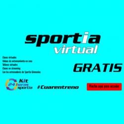 "Chollo - ""Cuarentreno"" Gratis en Gimnasio Sportia Virtual"