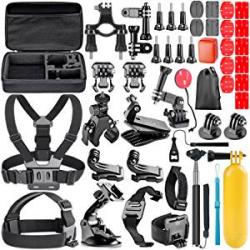 Chollo - Kit accesorios para Cámara de Acción Neewer 44 en 1