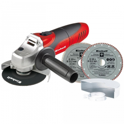 Chollo - Kit Amoladora Einhell TC-AG 125 mm 850W