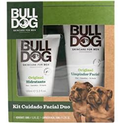 Chollo - Kit cuidado facial Bulldog  Duo Hidratante + Limpiador - 5060144645012