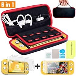 Chollo - Kit de accesorios para Nintendo Switch Lite Th-some 6 en 1