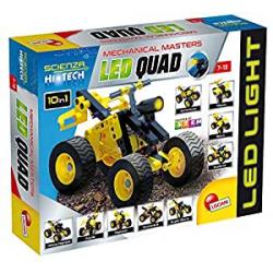 Chollo - Kit de Construcción Scienza Hi Tech 10 en 1 Quad LED
