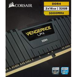 Chollo - Kit de Memoria RAM Corsair Vengeance LPX 32GB (2x16GB) DDR4 3000Mhz CL16