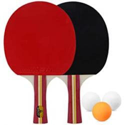 Chollo - Kit de Ping Pong Lixada 2 palas + 3 pelotas