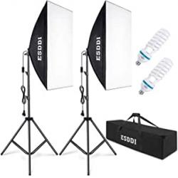 Chollo - Kit Iluminación de Estudio Esddi PS025
