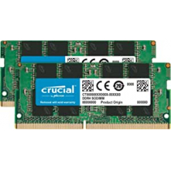 Chollo - Memoria RAM Crucial 8GB Kit (2x4GB) DDR4-2666 SODIMM - CT2K4G4SFS8266
