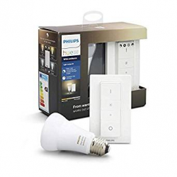 Kit Philips Hue White Ambiance: Bombilla + Mando Interruptor (929001200141)