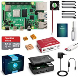 Chollo - Kit Labists Raspberry Pi 4 Modelo B 4GB/64GB