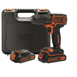 Chollo - Kit Taladro Atornillador 18V Black & Decker BDCDC18KB-QW