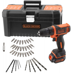 Chollo - Kit Taladro Black & Decker BDCDD121KA-QW