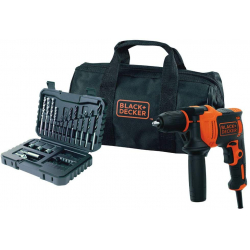 Chollo - Kit Taladro Percutor Black & Decker BEH710SA32-QS 710W + 32 Acc + Bolsa de Transporte