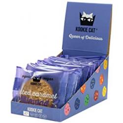 Chollo - Kookie Cat Galletas ecológicas Caramelo Salado Almendra Pack 12x 50g