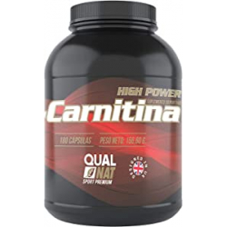 Chollo - L-Carnitina Pura Qualnat High Power Suplemento deportivo 180 Cápsulas