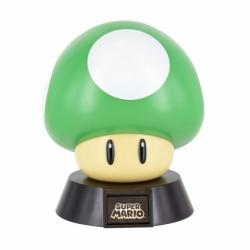 Chollo - Lámpara 3D Super Mario 1UP Mushroom - Paladone PP4681NN