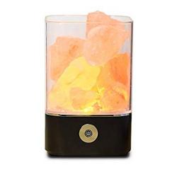 Chollo - Lámpara de Sal del Himalaya Zoeson ZXKJ0909
