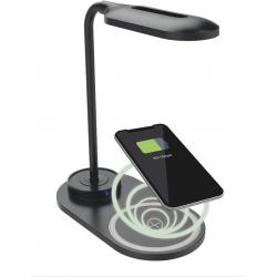 Chollo - Lámpara Ksix Energy Lamp con Cargador inalámbrico Fast Charge 7.5W-10W