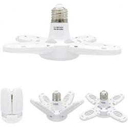 Chollo - Lámpara LED Cigopx 4 Placas 38W E27 | xz-mn-fan001