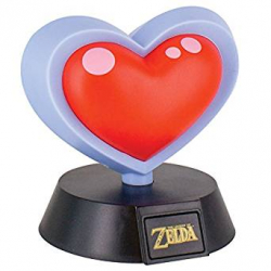 Chollo - Lámpara Heart Container 3D The Legend of Zelda Nintendo