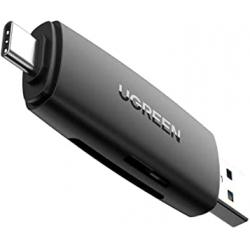 Chollo - Lector de Tarjetas Ugreen USB-C + USB 3.0