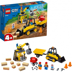Chollo - LEGO City Great Vehicles Buldócer de Construcción - 60252