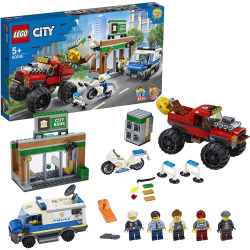 Chollo - LEGO City Policía: Atraco del Monster Truck | 60245