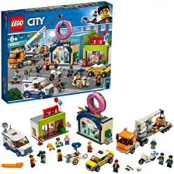 Chollo - LEGO City Town: Inauguración de la tienda de dónuts - 60233