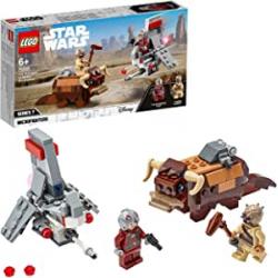 Chollo - LEGO Star Wars Microfighters Saltacielos T-16 vs Bantha