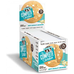 Chollo - Galletas Lenny & Larry's The Complete Cookie Chocolate blanco y macadamia Pack 12x 113g