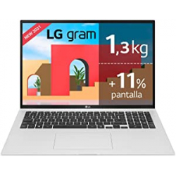 "Chollo - LG gram i7-1165G7 17Z90P 16GB 512GB 17"" | 17Z90P-G.AA78B"