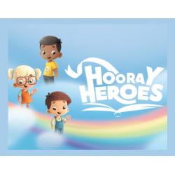 Chollo - Gratis Libro Infantil Personalizado para Colorear de Hurra Héroes (PDF)