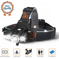 Chollo - Linterna Frontal LED CAMTOA