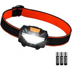 Chollo - Linterna LED frontal de cabeza Suright 361750