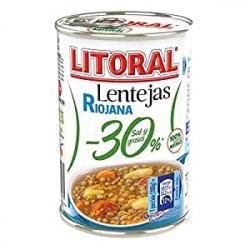 Chollo - Litoral Lentejas Riojana 30% (425g)