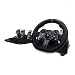 Chollo - Logitech G920 Driving Force Volante y Pedales para Xbox One/PC