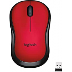 Chollo - Logitech M220 Silent Ratón inalámbrico Rojo | 910-004880