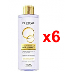 Chollo - L'Oreal Paris Age Perfect Agua Micelar Pack 6x 400ml
