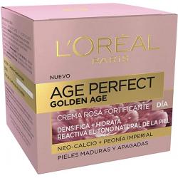 Chollo - L'Oreal Paris Age Perfect Golden Age Crema Rosa Fortificante Día Pieles Maduras y Apagadas 50ml