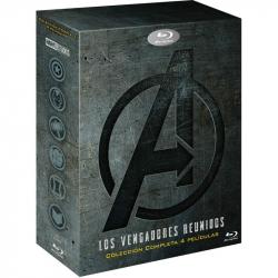 Chollo - Los Vengadores Reunidos: Colección Completa 4 Películas [Blu-Ray]