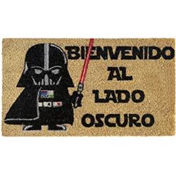 Chollo - LucaHome Bienvenido al lado oscuro Felpudo de coco 40x60cm