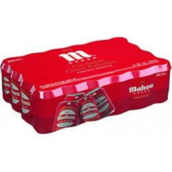 Chollo - Mahou 5 Estrellas Cerveza rubia Especial Lata Pack 24x 33cl