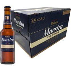 Chollo - Mahou Maestra Doble Lúpulo Cerveza Lager Tostada Botellín Pack 24x 33cl | 1874