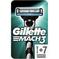 Chollo - Maquinilla de afeitar Gillette Mach3 + 7 Recambios