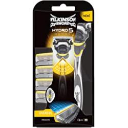 Chollo - Maquinilla de afeitar Wilkinson Sword Hydro 5 Sense + 4 recambios