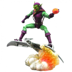 Chollo - Figura articulada Green Goblin Marvel Select (18cm)