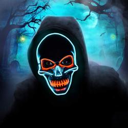 Chollo - Máscara con Iluminación LED