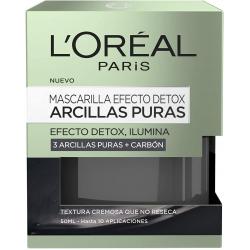 Chollo - Mascarilla efecto detox L'Oréal Paris Arcillas Puras + Carbón 50ml