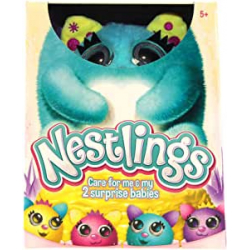 Chollo - Mascota interactiva Nestlings Celeste - 332241