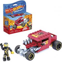 Chollo - Mega Construx Hot Wheels Bone Shaker Coche de carreras | Mattel GVM29