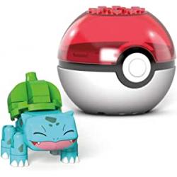 Chollo - Mega Construx Pokémon Bulbasaur Pokébola | Mattel GVK61