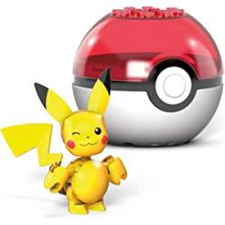 Chollo - Mega Construx Pokémon Pikachu Pokébola | Mattel GVK60